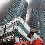 Cháy tòa nhà 33 tầng ở Hà Nội