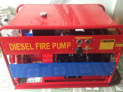 Những loại máy bơm cứu hỏa thông dụng